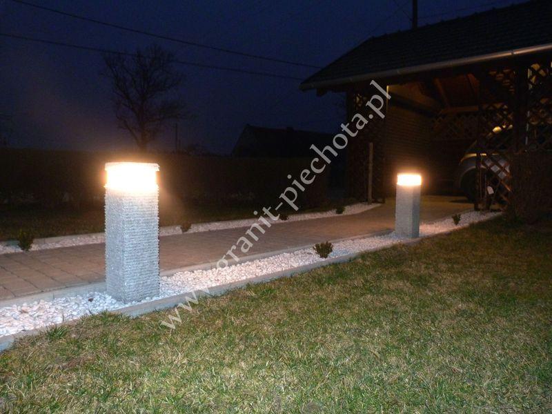 Lampa granitowa 01 - GRANIT PIECHOTA