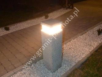 Lampa granitowa 03 - GRANIT PIECHOTA